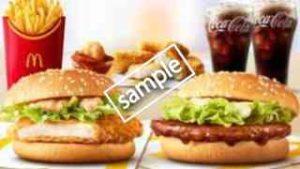 てりやきマックバーガー+チキンフィレオ+ポテトL+ナゲット5ピース+ドリンクM2個