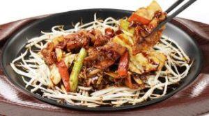 お野菜たっぷり豚肉味噌炒め