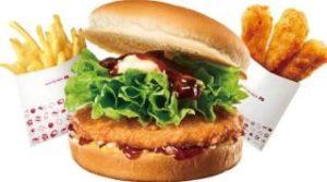 てりやきチキンバーガー ポテトS チキンからあげっと