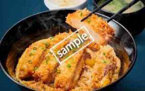 豚ロースかつ丼(味噌汁・漬物付き)