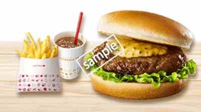 ハニマス 肉厚ハンバーガー ポテトS ドリンクS