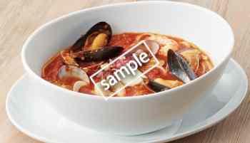 魚介のスープスパゲティ 840円