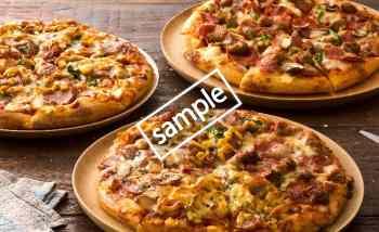 1〜4ハッピーレンジピザ全品 30%引き(LINEクーポン)
