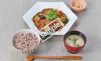 豚と野菜の豆鼓炒め定食