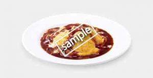 とろ〜り卵とチーズのオムライス 740円