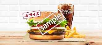 ワッパーチーズJr+ポテトM+ドリンクM 510円