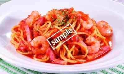 海老のトマトソーススパゲッティ 549円