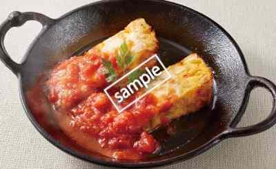スペイン風オムレツとチーズの鉄板焼き 199円