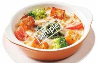 1日分の緑黄野菜が摂れるドリア+ドリンクバーセット