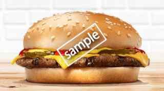 チーズバーガー単品 200円