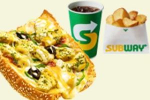 ピザ バジルトマトチキン+ポテトドリンク(S)セット