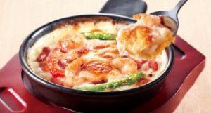 海老と野菜のクリーミードリア