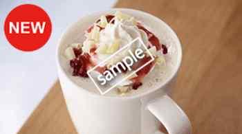 ホワイトショコラストロベリー サイズアップ無料(S→M、M→L)