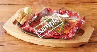 モッツァレラチーズのトマト包み焼きハンバーグ