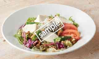 おぼろ豆腐と瀬戸内産釜揚げしらすのサラダ