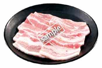 豚カルビ340円
