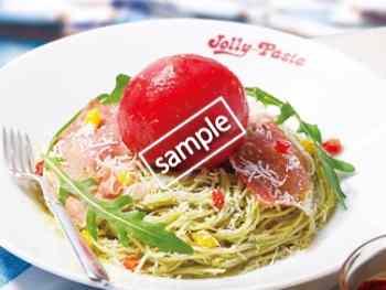 まるごとトマトの冷製ジュノベーゼ 990円