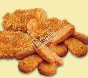 チキンズ フライドチキン3個+チキンナゲット2個