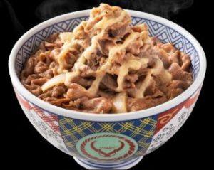 肉だく胡麻ドレ牛丼