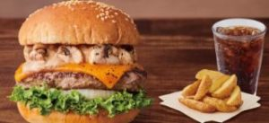 クラシックマッシュルームチーズバーガー+ポテトR+セットドリンク