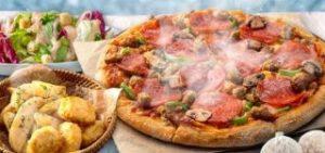 1〜2ハッピーレンジMピザ1枚+サイド2品