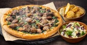 1〜4ハッピーMピザ+サイドメニュー2品