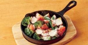 温野菜のシーザーサラダ