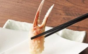 ずわい蟹爪トッピング