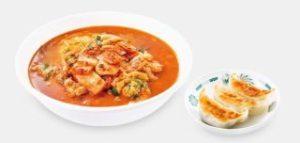 チゲ味噌ラーメン+餃子3個