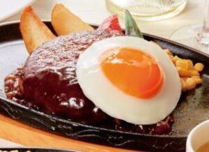 黒毛和牛エッグデミグラスハンバーグ単品