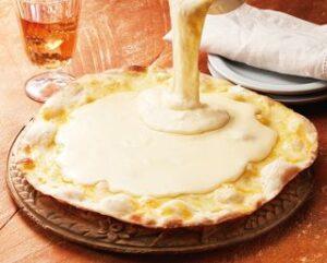 ピッツァ チーズ&チーズ