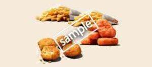 チキンナゲットスパイシーデビル5ピース+ポテトM2個+チーズバイツ4ピース