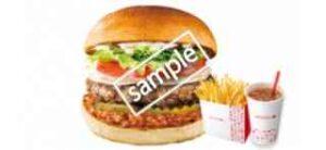 ジビエ鹿肉バーガー エゾ鹿ラグーソース+ふるポテ+ドリンクM