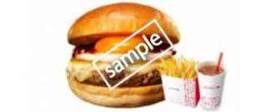 和風半熟月見 絶品チーズバーガー+ふるポテ+ドリンクM