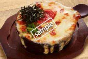 窯焼きチーズパスタ 明太子クリーム