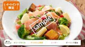 サーモンの11種野菜サラダ