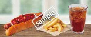 サルサドッグ+ポテトセット