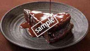 チョコオンチョコレートケーキ