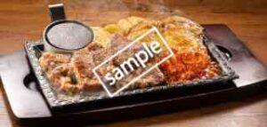 単品 ワイルドカットステーキ約150g&チキンステーキ約240g