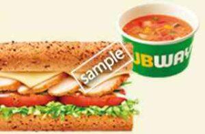 腸活サンドチキンandチーズ+スープセット