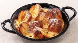 焼きたてデニッシュのフレンチトースト