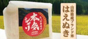 山形県産ブランド米 はえぬき プレゼント