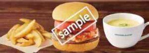フレッシュネスバーガー+ポテトR+スープ
