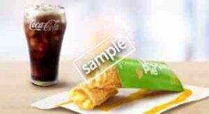 ホットアップルパイ+お好きな炭酸ドリンクS