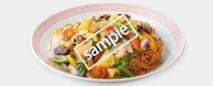 彩り野菜の皿うどん