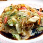 酢ソース皿うどん(マツコ大絶賛)