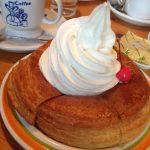 シロノワールをトースト(よく焼き)