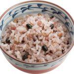十六穀米に無料変更(大盛りも可能)