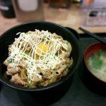 マヨすた丼(マヨネーズ追加)