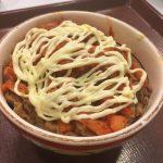 キムマヨ牛丼